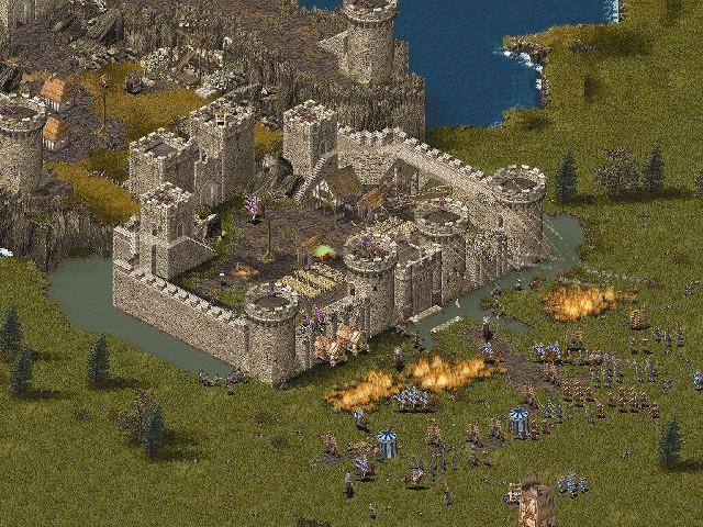 Как создать карту для stronghold crusader - Walton